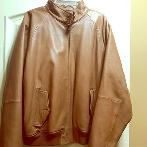 Men's Polo  Ralph Lauren leather Jacket 2xl